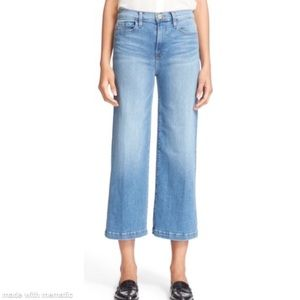 Frame Denim High Rise Crop Jeans Le Capri